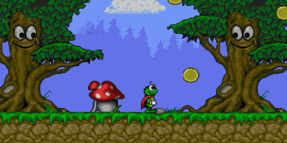 Superfrog screenshot